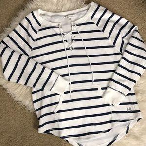 Victoria's Secret striped sweatshirt size Small